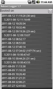 Reboot logger- screenshot thumbnail