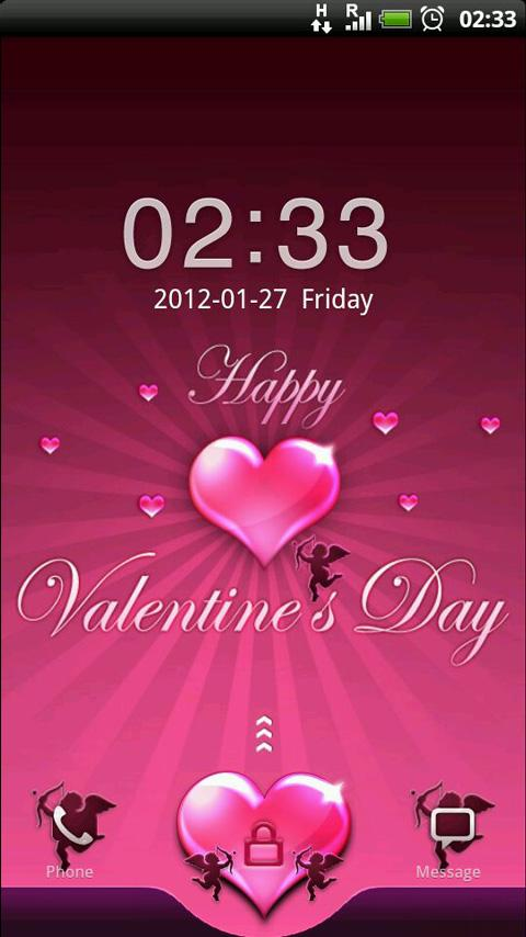 GO Locker Be Mine Valentine - screenshot