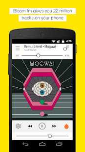Bloom.fm - The music app- screenshot thumbnail