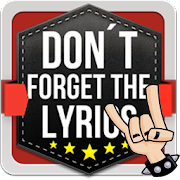 Don't Forget the Lyrics Rock 6.0.1 APK for Android