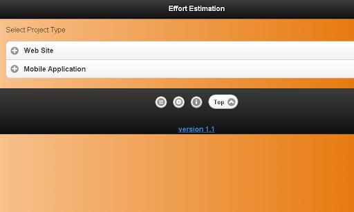 Effort Estimation Lite