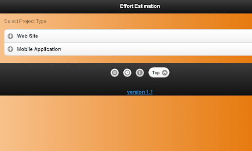 Effort Estimation Lite - screenshot thumbnail