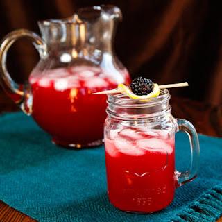 Blackberry Vanilla Bourbon Lemonade.
