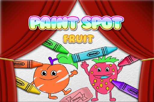 Paint Fruits for Toddlers