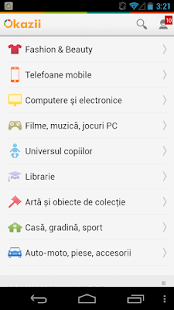 Okazii.ro- screenshot thumbnail