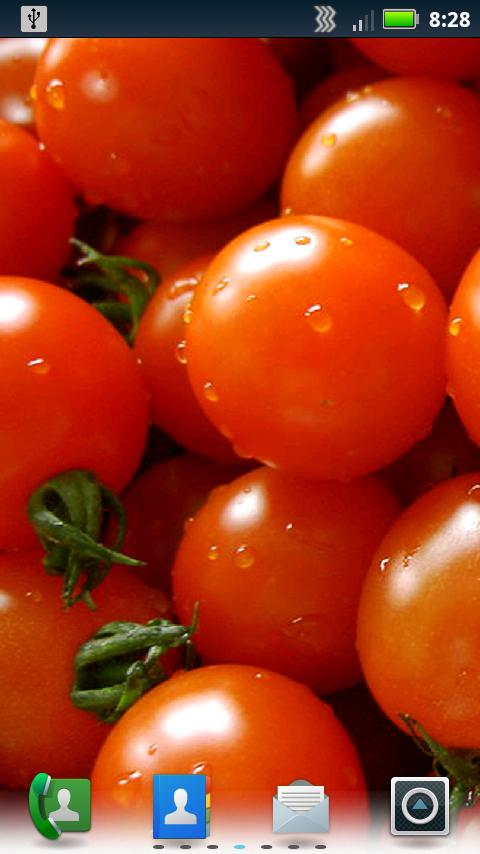 Tasty Veggies Live Wallpaper- screenshot