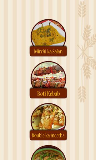 Hyderabadi food recipes