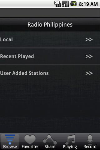Radio Philippines- screenshot