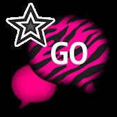 GO SMS THEME/PinkZebraCloud