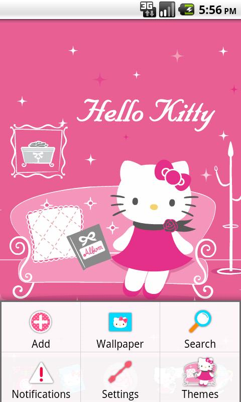 Hello Kitty Miss You Theme- screenshot