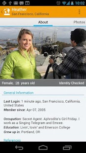 CouchSurfing - screenshot thumbnail