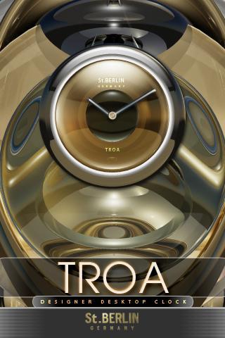Troa designer Clock Widget