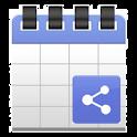 Smart Share To Calendar icon