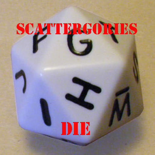 Scattergories Die