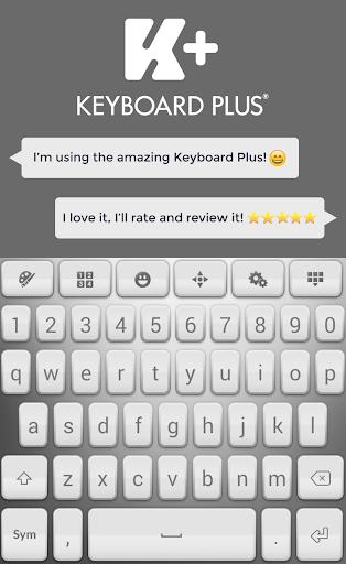 键盘加字体