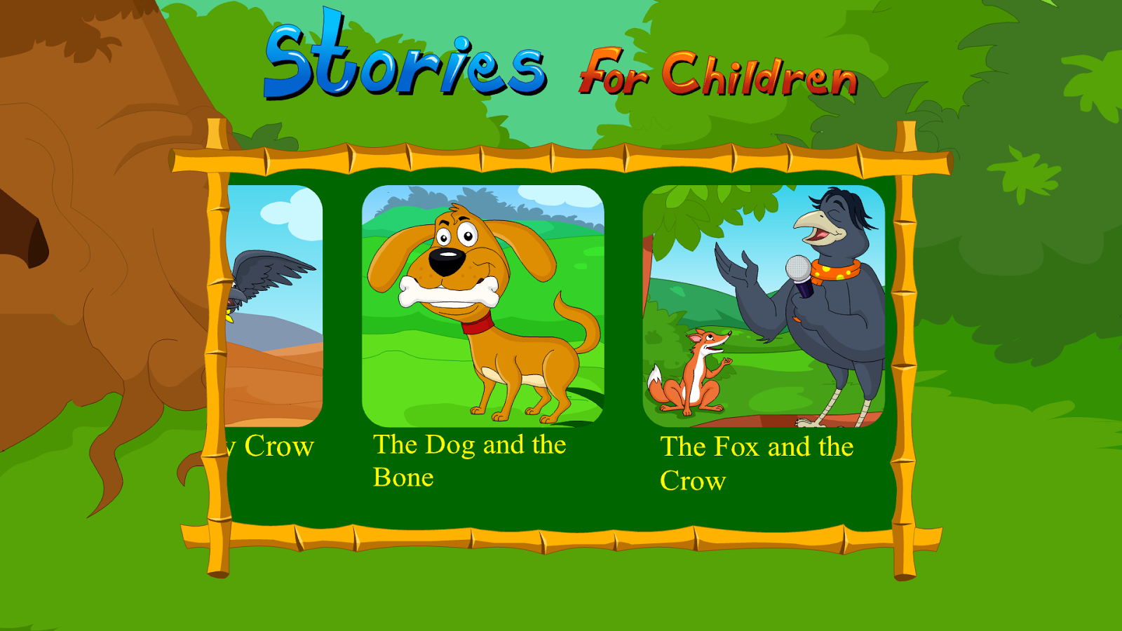 Kidlo Stories For Children - Famous Fables & Tales- screenshot