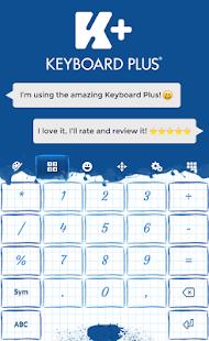 Inkoustová klávesnice - náhled