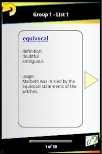 GRE Vocab & Test - screenshot thumbnail