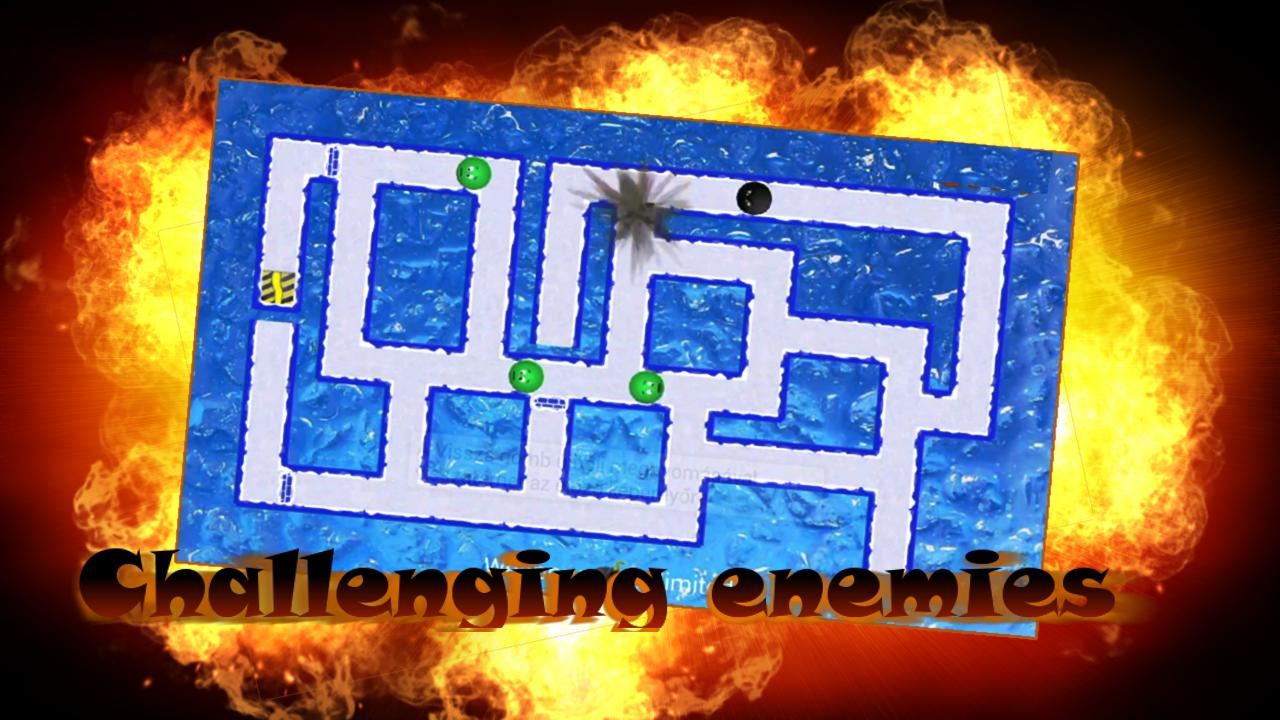 Bomber Ball Maze- screenshot