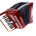 Accordion lessons for beginner icon
