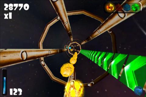 Tunnel Ball 3D- screenshot