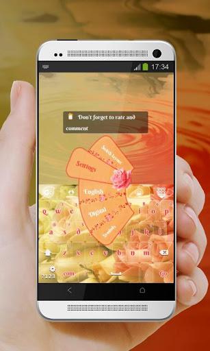 玫瑰園 GO Keyboard 個人化 App-愛順發玩APP