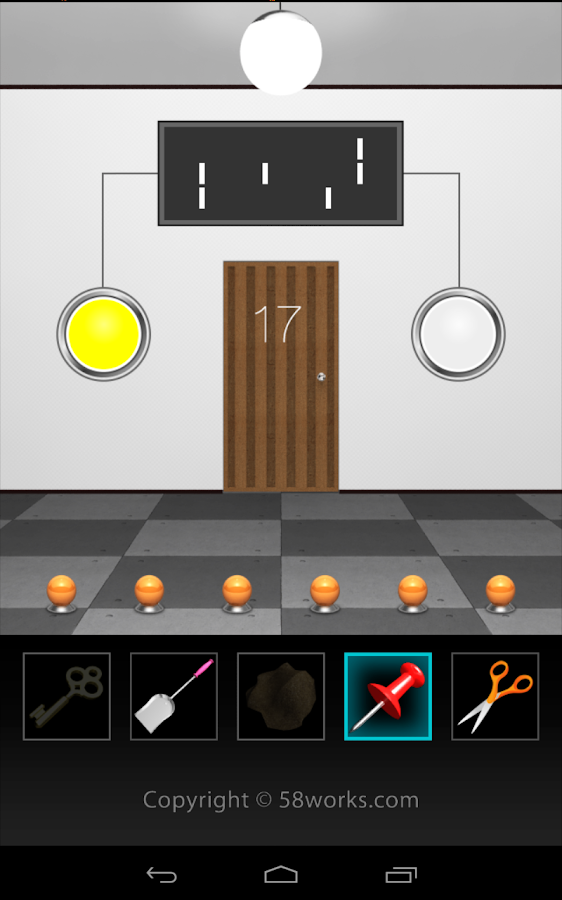 DOOORS3 - room escape game -- screenshot