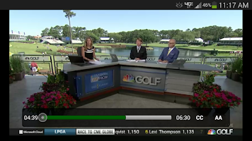 Screenshot of Golf Live Extra