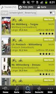 Elberadweg- screenshot thumbnail