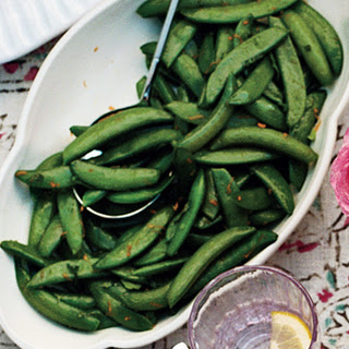 Sugar Snap Peas with Mint and Orange