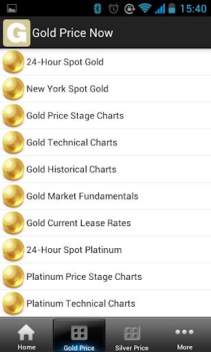 【免費財經App】黃金價格現在-APP點子