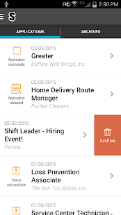 Job Search - Snagajob- screenshot thumbnail
