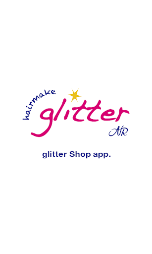 hair make glitter