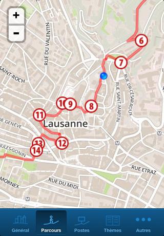 GéoGuide Lausanne