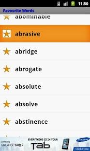 GRE Vocabulary Expert- screenshot thumbnail