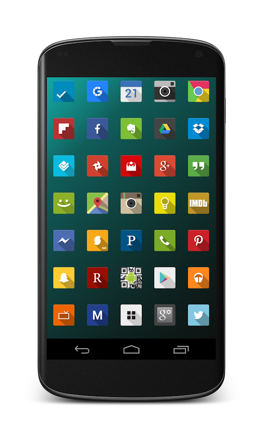 Minimal Shadows Icon Pack- screenshot