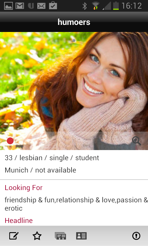 lesarion - lesbian dating - screenshot