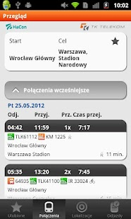 Bilkom - Train Timetable - screenshot thumbnail