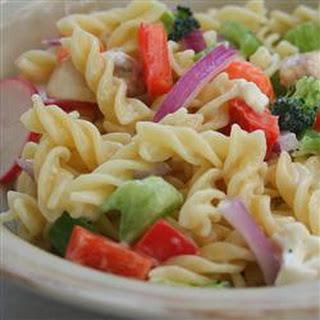 Eat Your Veggies Pasta Salad.