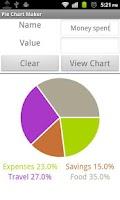Screenshot of Pie Chart Maker