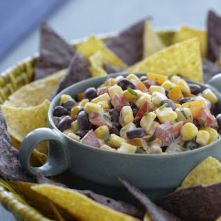 Creamy Black Bean and Corn Salsa