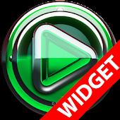 Poweramp widgetpack Green Glas