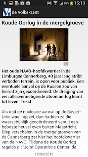 de Volkskrant - screenshot thumbnail