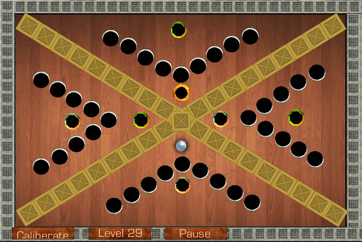 Wooden Labyrinth - screenshot