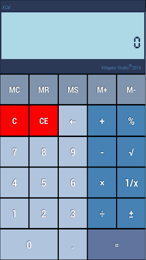 XCal Basic Calculator