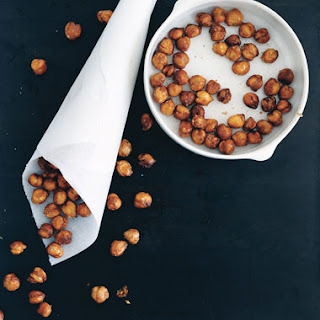 Crispy Cinnamon Garbanzo Beans Recipe