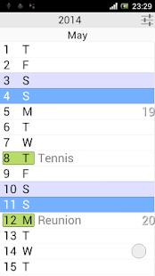 The Calendar Pro - náhled