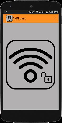 Wifi Password app 2015