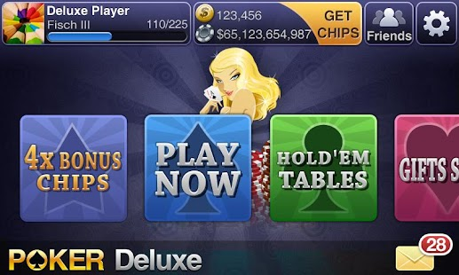 Texas HoldEm Poker Deluxe beta