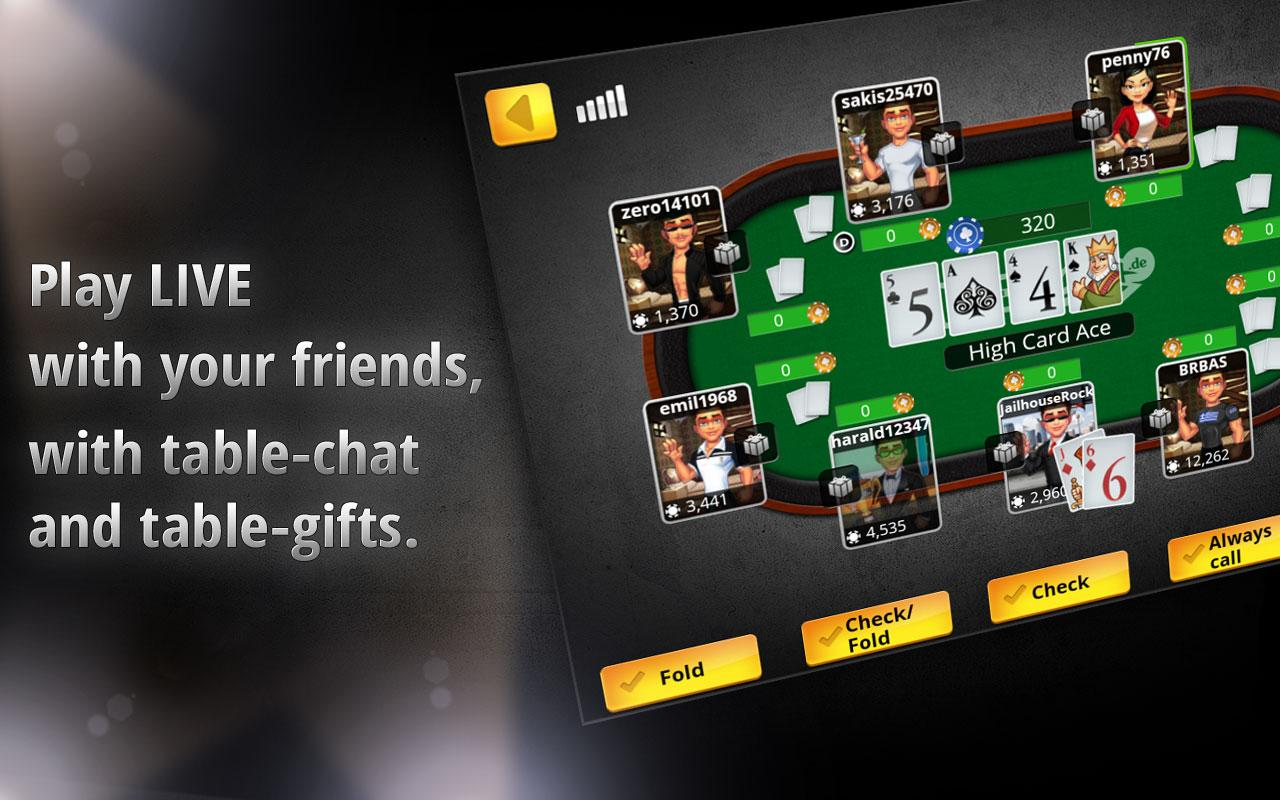 Free Texas Holdem Poker - screenshot